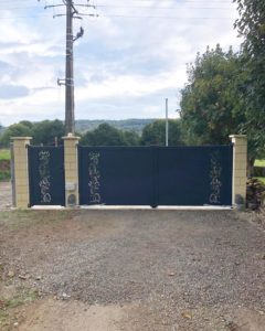 Portail menuiserie Rodez, Villefranche de Rouergue, Decazeville Firmi